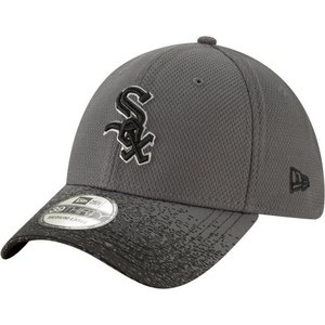 ニューエラ ユニセックス 帽子 キャップ Youth Chicago White Sox 39Thirty Blur Visor Stretch Fit Hat|sneakersuppliers