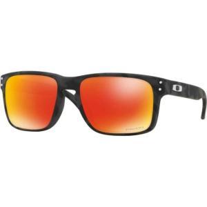 オークリー メンズ サングラス Men's Holbrook Black Camo Sunglasses|sneakersuppliers