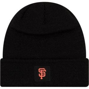 ニューエラ メンズ 帽子 キャップ Men's San Francisco Giants Clubhouse Knit Hat|sneakersuppliers