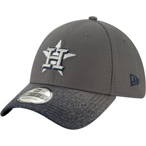 ニューエラ ユニセックス 帽子 キャップ Youth Houston Astros 39Thirty Blur Visor Stretch Fit Hat|sneakersuppliers