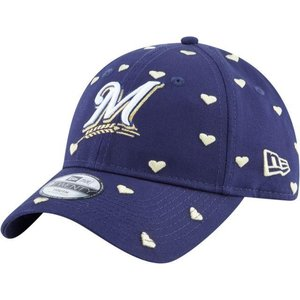 ニューエラ ユニセックス 帽子 キャップ Youth Milwaukee Brewers 9Twenty Lovely Fan Adjustable Hat|sneakersuppliers