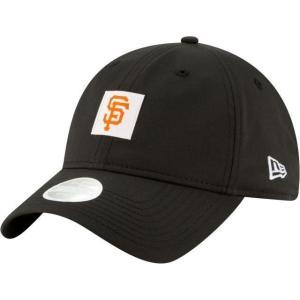 ニューエラ レディース 帽子 キャップ Women's San Francisco Giants 9Twenty Sleekest Fan Adjustable Hat|sneakersuppliers