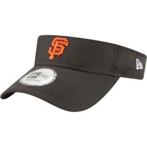 ニューエラ メンズ 帽子 キャップ Men's San Francisco Giants Clubhouse Adjustable Visor|sneakersuppliers