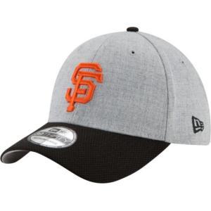 ニューエラ メンズ 帽子 キャップ Men's San Francisco Giants 39Thirty Change Up Redux Grey Stretch Fit Hat|sneakersuppliers
