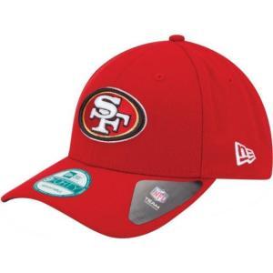 ニューエラ メンズ 帽子 キャップ Men's San Francisco 49ers League 9Forty Adjustable Red Hat|sneakersuppliers