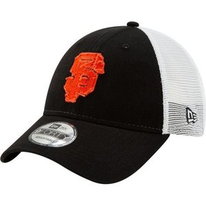 ニューエラ メンズ 帽子 キャップ Men's San Francisco Giants 9Forty Team Trucker Adjustable Hat|sneakersuppliers