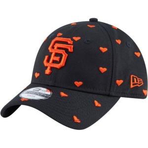 ニューエラ ユニセックス 帽子 キャップ Youth San Francisco Giants 9Twenty Lovely Fan Adjustable Hat|sneakersuppliers