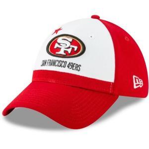 ニューエラ メンズ 帽子 キャップ Men's San Francisco 49ers 2019 NFL Draft 39Thirty Stretch Fit Red Hat|sneakersuppliers