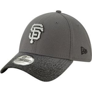 ニューエラ ユニセックス 帽子 キャップ Youth San Francisco Giants 39Thirty Blur Visor Stretch Fit Hat|sneakersuppliers
