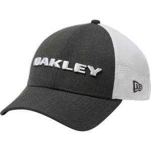オークリー メンズ 帽子 キャップ Men's Heather New Era Snap-Back Golf Hat|sneakersuppliers
