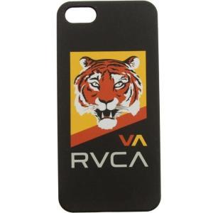 ユニセックス グッズ RVCA Tiger iPhone 5 Case (white / black / yellow)|sneakersuppliers