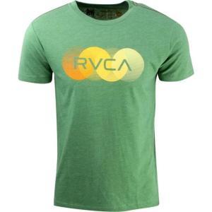 ユニセックス ティーシャツ RVCA Horizon Tee (green / artichoke)|sneakersuppliers