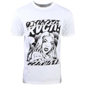 ユニセックス 帽子 キャップ RVCA Men Girlfriend Tee (white)|sneakersuppliers