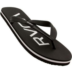 ユニセックス スニーカー シューズ RVCA Trench Town Sandal (black)|sneakersuppliers