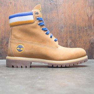 ユニセックス スニーカー シューズ Timberland x Mitchell and Ness NBA Men 6 Inch Boot - Golden State Warriors (brown / wheat)|sneakersuppliers
