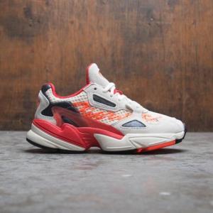 ユニセックス スニーカー シューズ Adidas x Fiorucci Women Falcon (white / off white / neon solar orange / black)|sneakersuppliers