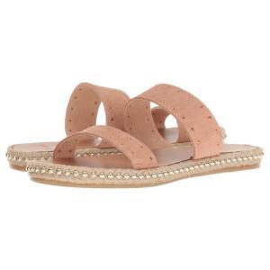 Sablespy ユニセックス Sandals Women ユニセックス Peach Calf Su...