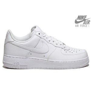 NIKE AIR FORCE 1 '07WHITE/WHIT...
