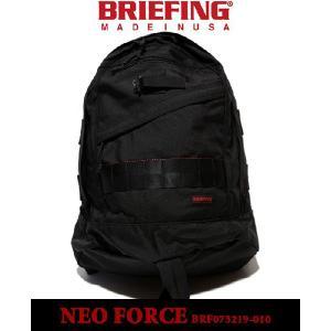 BRIEFING 「RED LINE」 NEO FORCE BLACKbriefing ブリーフィング レッドライン ネオフォース バックパック デイパック ブラック リュックサック メンズ|sneeze
