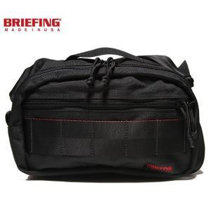 BRIEFING 「RED LINE」 FIGHTER BRF186219-010 BLACK briefing ブリーフィング レッドライン ファイター ブラック ショルダー バッグ USA|sneeze