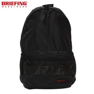 BRIEFING 「RED LINE」 PACKABLE DAYPACK BRF265219-010 BLACK briefing ブリーフィング パッカブル デイパック リュック バックパック USA|sneeze