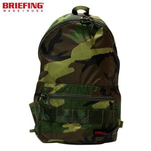 BRIEFING 「RED LINE」 PACKABLE DAYPACK BRF265219-160 WOODLAND CAMO briefing ブリーフィング パッカブル デイパック カモ リュック バックパックUSA|sneeze