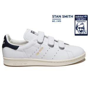 adidas Originals STAN SMITH CF BY9191 WHITE/COLLEGIATE NAVY/CHALK WHITE アディダス オリジナルス スタンスミス コンフォート メンズ ベルクロ スニーカー