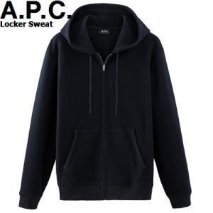 A.P.C. HOMME 2015 COLLECTION HIVER LOCKER SWEAT DARK NAVY H27254アーペーセー ロッカー スエット  スウェット ダークネイビー  APC メンズ|sneeze