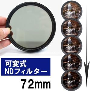 NDフィルター 72mm 可変 カメラ 減光 ND SN-191-N2