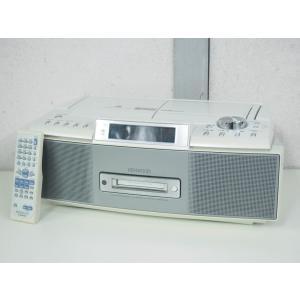 #【中古】KENWOODケンウッド MDパーソナルステレオシステム RAMPAGEランページ CD/MD/カセットテープ/ラジオ MDX-K3-S オーディオ