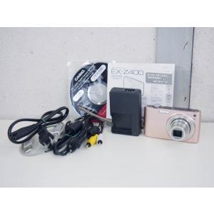 【中古】CASIOカシオ コンパクトデジタルカメラ EXILIM ZOOM エクシリム 1210万画素 EX-Z400PK ピンク