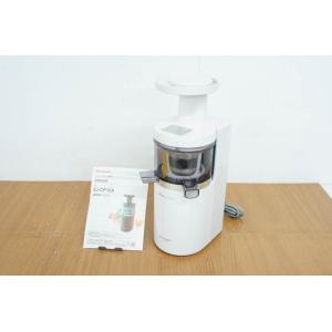 中古 SHARPシャープ スロージューサー juicepresso ジュースプレッソ EJ-CP10A-W 低速ジューサー 低速圧縮絞り|snet-shop