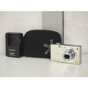 【中古】Panasonicパナソニック コンパクトデジタルカメラ LUMIXルミックス 1210万画素 DMC-FX40-N プレシャスゴールド