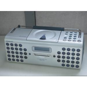 【中古】KENWOODケンウッド MDパーソナルステレオシステム RAMPAGEランページ CD/MD/ラジオ MDX-01-LH ブルーグレー オーディオ
