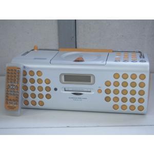 【中古】KENWOODケンウッド MDパーソナルステレオシステム RAMPAGEランページ CD/MD/ラジオ MDX-01-D オレンジ オーディオ