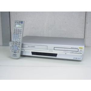 #【中古】JVC Victorビクター DVDプレーヤー一体型VHSハイファイビデオ HR-DV4 ビデオデッキ
