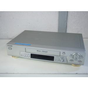 中古ワケあり SONYソニー VHSビデオデッキ SLV-R155