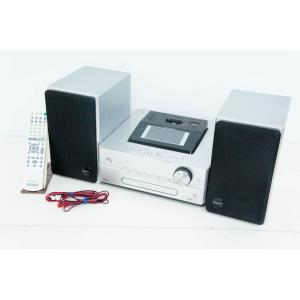 中古 SONYソニー HDDコンポ CD/ラジオ NETJUKE NAS-D500HD オーディオ HDD容量160GB ハードディスクコンポ シルバー|snet-shop