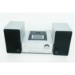 中古 SONYソニー HDDコンポ CD/ラジオ NETJUKE NAS-D500HD オーディオ HDD容量160GB ハードディスクコンポ シルバー|snet-shop|02