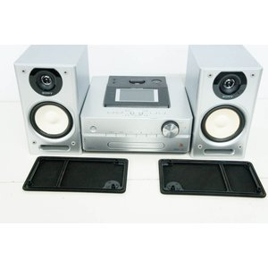 中古 SONYソニー HDDコンポ CD/ラジオ NETJUKE NAS-D500HD オーディオ HDD容量160GB ハードディスクコンポ シルバー|snet-shop|03