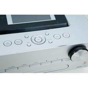 中古 SONYソニー HDDコンポ CD/ラジオ NETJUKE NAS-D500HD オーディオ HDD容量160GB ハードディスクコンポ シルバー|snet-shop|05