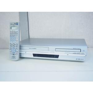 #【中古】JVC Victorビクター DVDプレーヤー一体型VHSハイファイビデオ HR-DV4