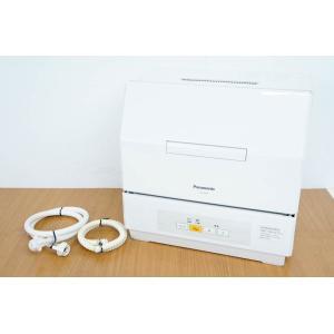 中古 Panasonicパナソニック 食器洗い乾燥機 NP-TCM4-W プチ食洗 3人用 ECON...