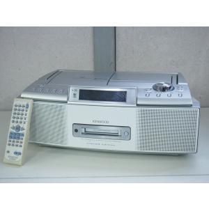 【中古】KENWOODケンウッド MDパーソナルステレオシステム RAMPAGEランページ CD/MD/カセットテープ/ラジオ MDX-K3-S オーディオ
