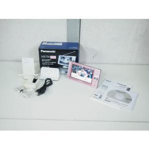 【中古】Panasonicパナソニック ポータブルワンセグテレビ 5V型 VIERAビエラ 防水 SV-ME750-P ピンク ポータブルTV
