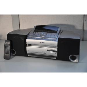 【中古】KENWOODケンウッド MDパーソナルステレオシステム RAMPAGE CD/MD/ラジオ MDX-E7 オーディオ