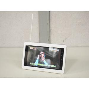 【中古】Panasonicパナソニック ポータブルワンセグテレビ 7V型 VIERAビエラ 防水 無線LAN内蔵 SV-ME970-W ポータブルTV グレイスホワイト
