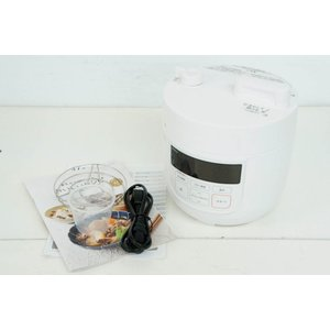 ●商品情報 ・本格料理が楽しめる、1台6役のコンパクトな電気圧力鍋 ・手間なく作れる自動圧力調理。ご...