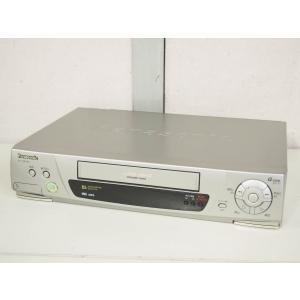 【中古】Panasonicパナソニック VHSハイファイビデオ ビデオデッキ NV-HB340
