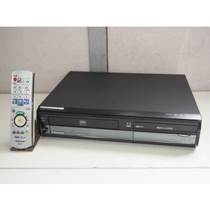 【中古】Panasonicパナソニック HDD内蔵DVDレコーダー DIGAディーガ 地デジ対応 HDD500GB DMR-XW41V-K ブラック ダビング機能付